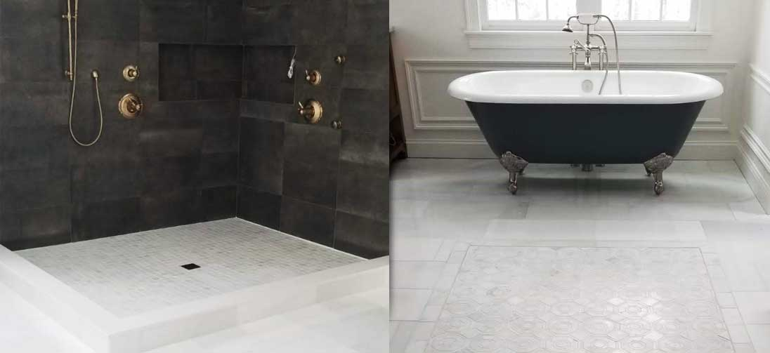 Bathroom Flooring & Tiling