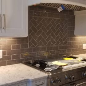 herringbone backsplash USE